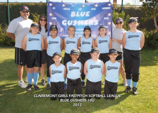 2012  - Team Q - Blue Gushers