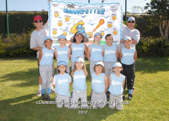 2012  - Team W - Smurfettes